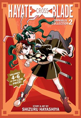 Hayate X Blade Omnibus Collection 2 (Vol. 4-6)