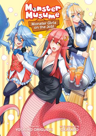 Monster Musume The Novel – Monster Girls on the Job! (Light Novel)
